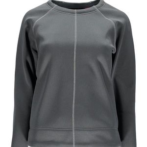 {Spyder} Sz L Clyck Women's Gray Pullover NWT